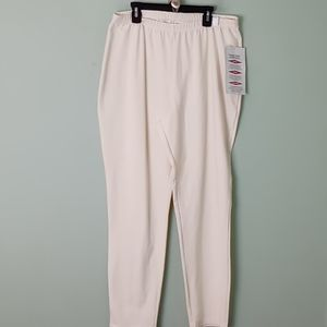 NWT QVC WOMEN WITH CONTROL PULL ON PANTS